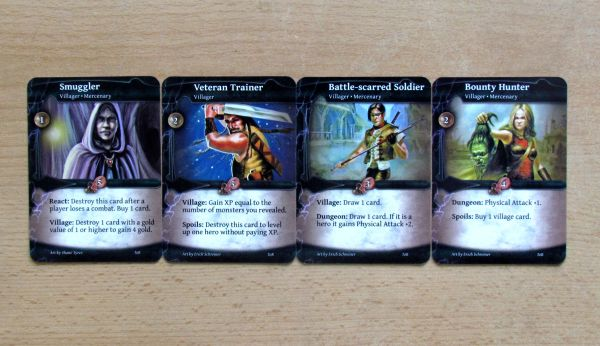 Thunderstone Advance - cards