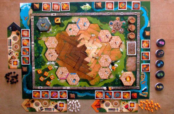 Tikal II: The Lost Temple - připravená hra