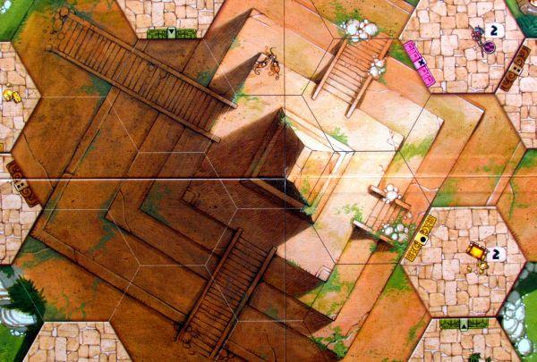 Tikal II: The Lost Temple - detail herního plánu