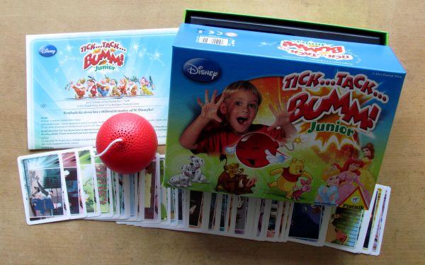 Tik Tak Bum Junior Disney - balení
