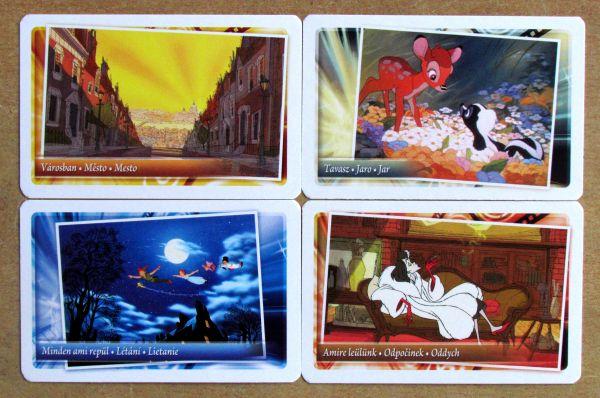 Tik Tak Bum Junior Disney - karty