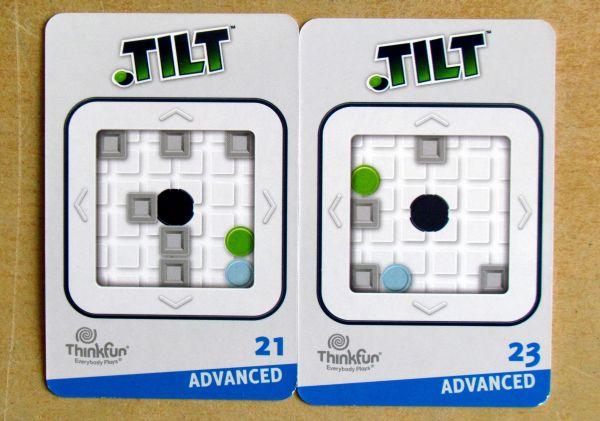 Tilt - karty zadání