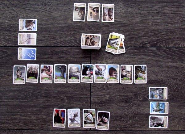 Timeline: Pestrá historie - rozehraná hra