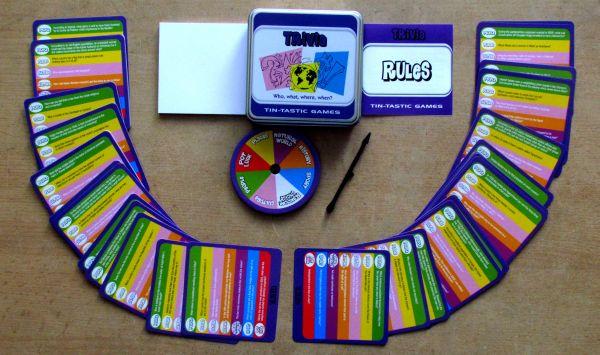Tin-Tastic Trivia Game - balení