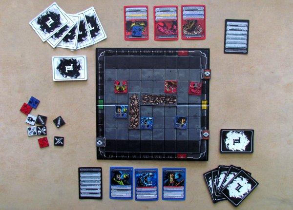 Titan Tactics - rozehraná hra
