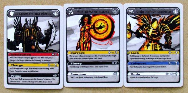 Titan Tactics - karty