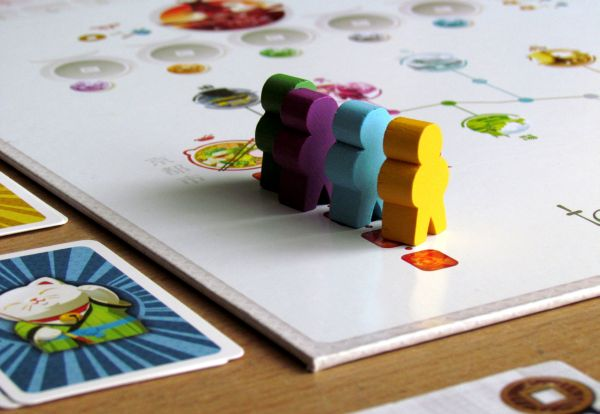Board game review: Tokaido - game is ready