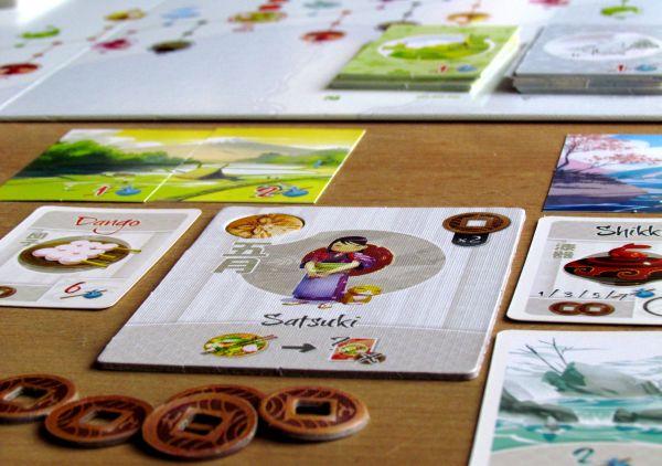 Tokaido - rozehraná hra
