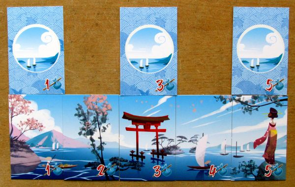 Board game review: Tokaido - cards