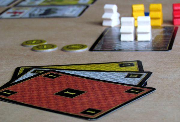 Tournay - rozehraná hra