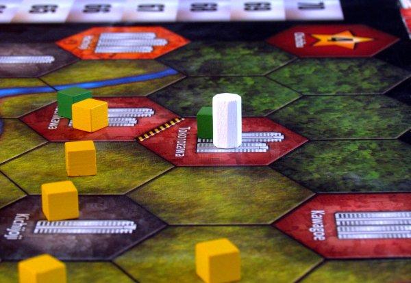 Trains - rozehraná hra