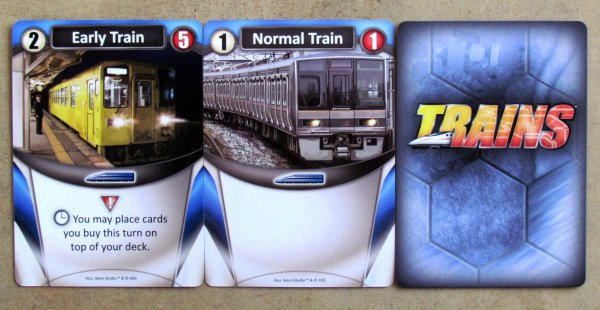 Trains - karty
