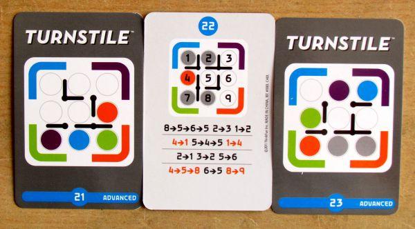 Turnstile - karty