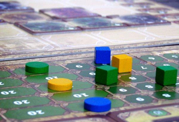 Urban Panic - game in progress