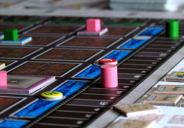 Urban Sprawl - rozehraná hra