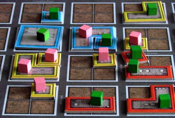 Urban Sprawl - game in progress