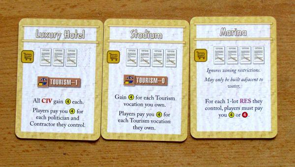 Board game review: Urban Sprawl - cards