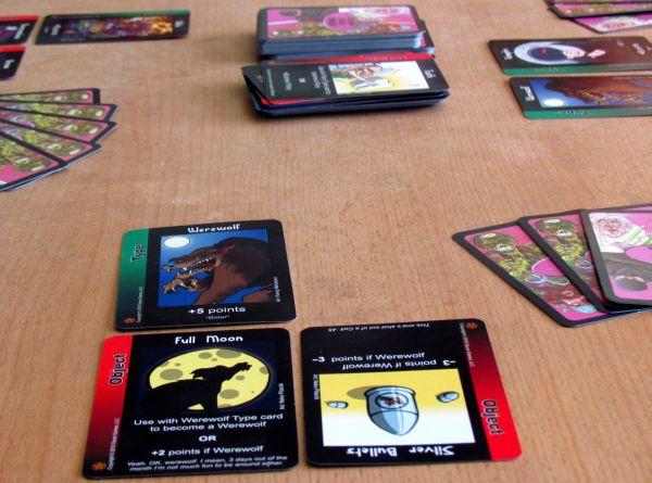 Vampire Werewolf Fairies - game in progress
