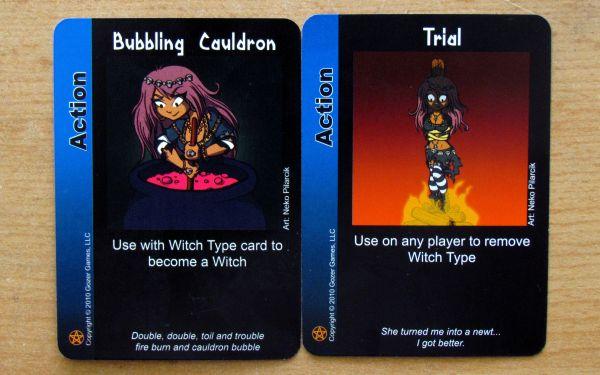 Vampire Werewolf Fairies - cards