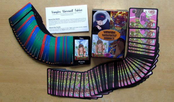 Vampire Werewolf Fairies - packaging