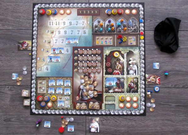 Vasco da Gama - game in progress