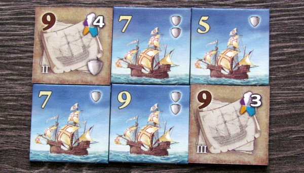 Vasco da Gama - dílky