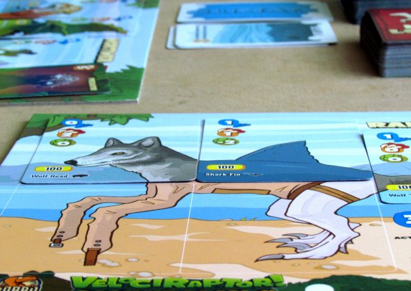 Velociraptor! Cannibalism! - game in progress