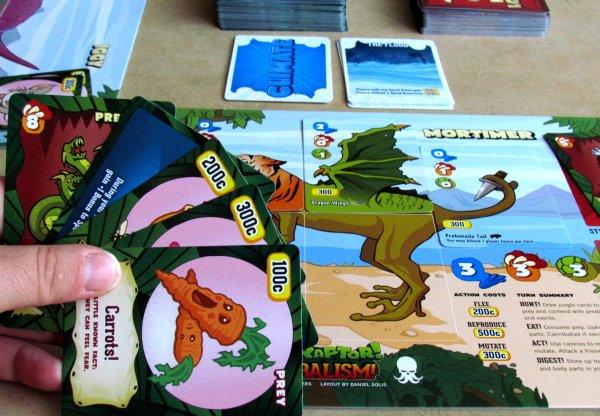 Velociraptor! Cannibalism! - rozehraná hra