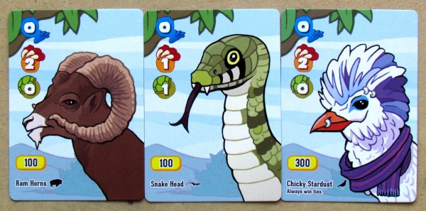 Velociraptor! Cannibalism! - cards