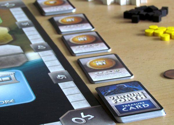 Venture Forth - připravená hra