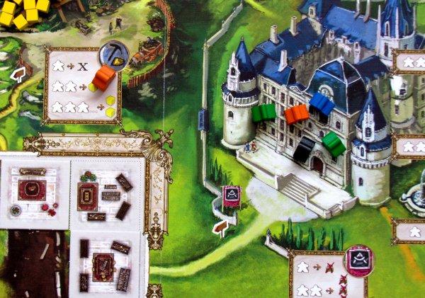 Versailles - game in progress