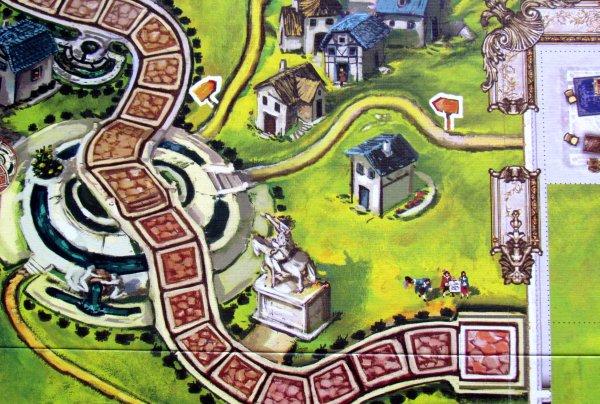 Versailles - board detail