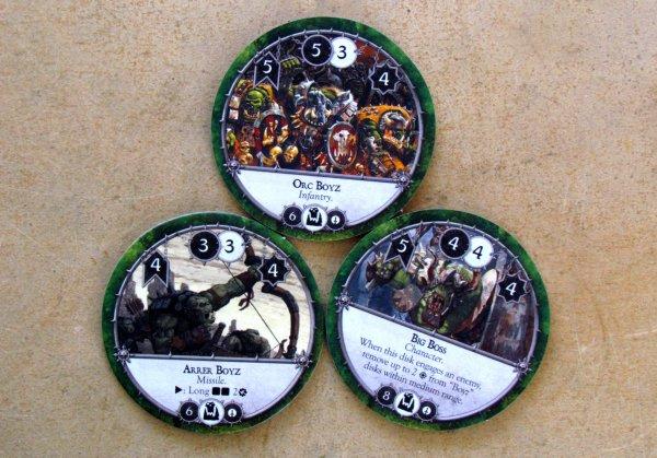 Warhammer: Diskwars - disky