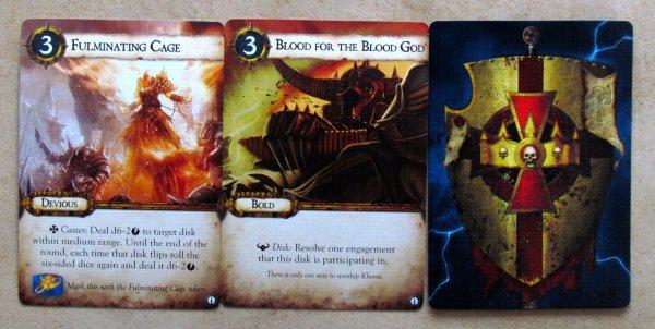 Warhammer: Diskwars - cards