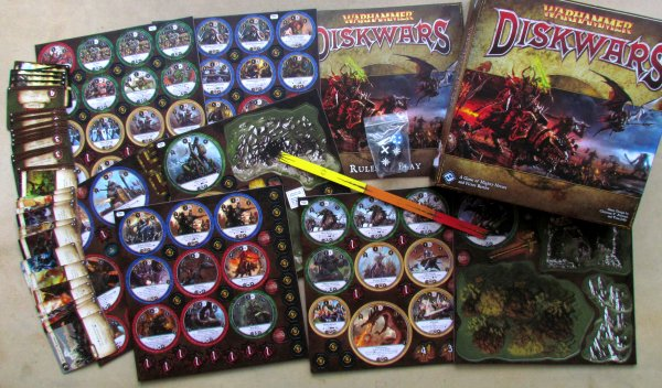 Warhammer: Diskwars - balení