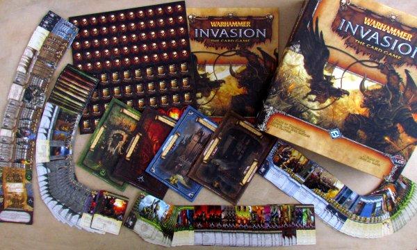 Warhammer: Invasion LCG - packaging