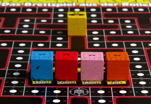 Whacky Roll - připravená hra