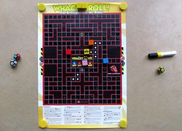 Whacky Roll - rozehraná hra