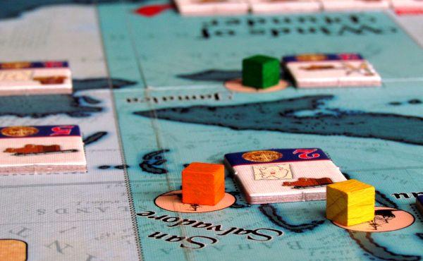 Winds of Plunder - rozehraná hra
