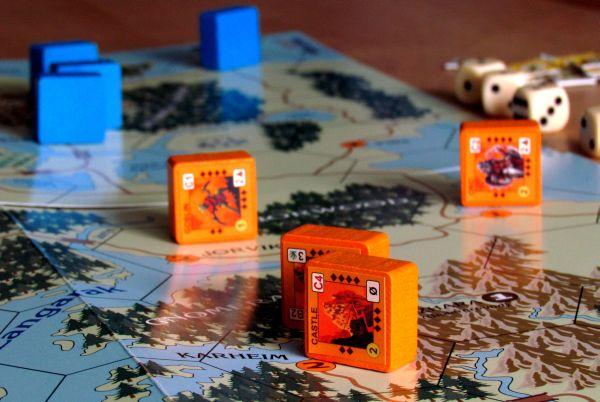 Wizard Kings - připravená hra