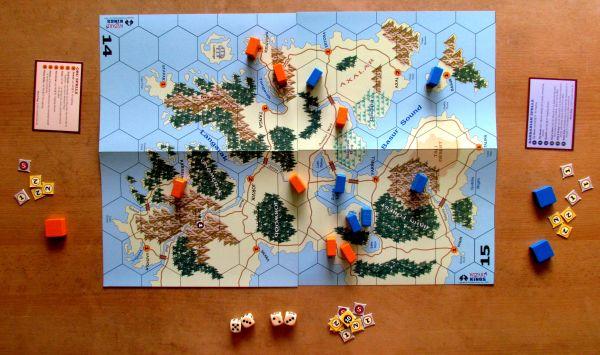 Wizard Kings - game in progress