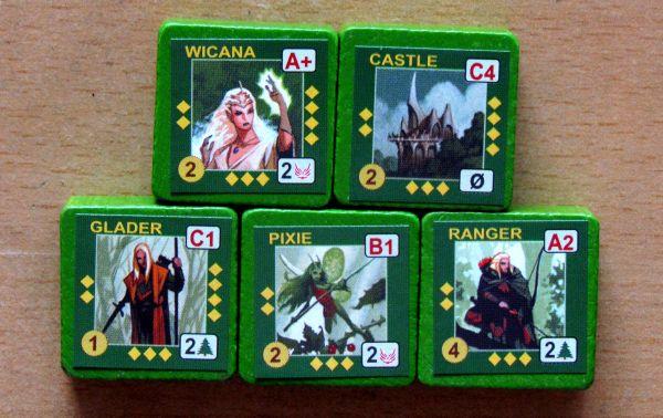 Wizard Kings - units