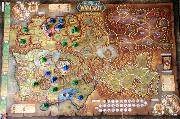 World of Warcraft - mapa