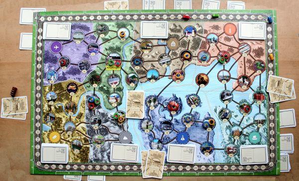 Wunderland - game in progress
