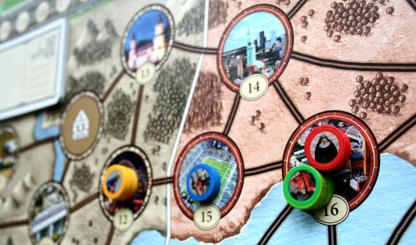 Wunderland - rozehraná hra