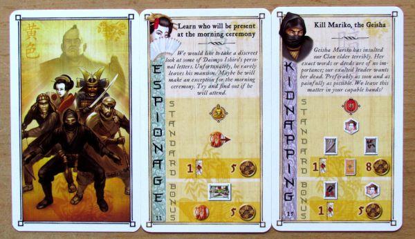 Yedo - cards