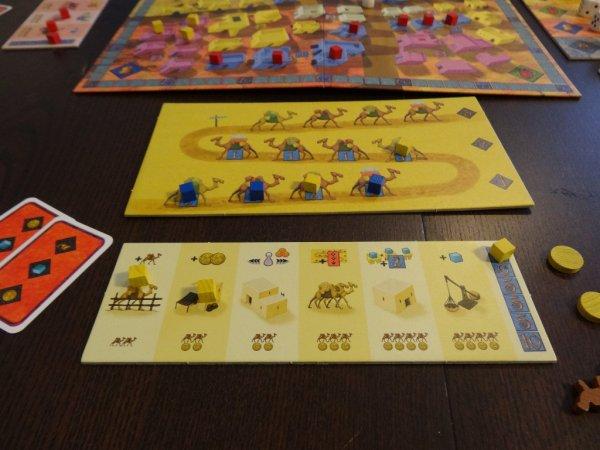 Yspahan - rozehraná hra