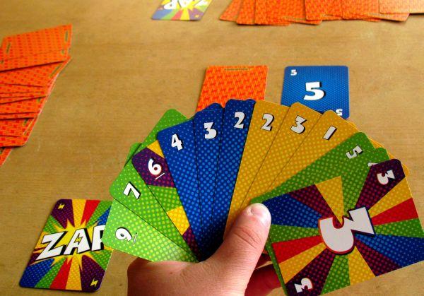 Zip Zap - připravená hra