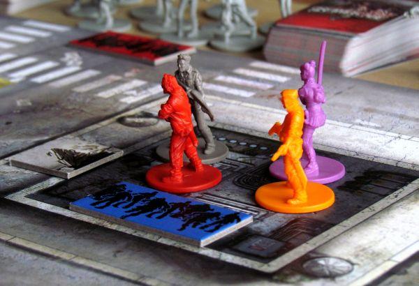 Zombicide - připravená hra