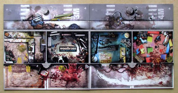 Zombicide: Toxic City Mall - herní plán